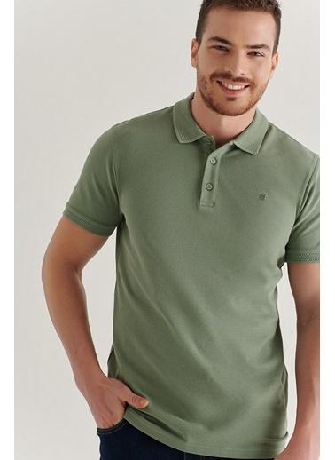Avva Erkek  Polo Tişört A11B1146 Yeşil